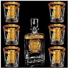 7-teiliger Dekanter Kreativer Haushaltswhisky