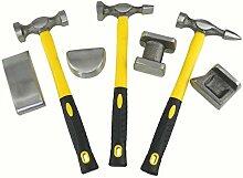 7-teiliges Karosserie-Reparaturwerkzeug-Set