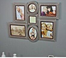 7 tlg. Collage-Rahmen-Set Dassel Maison Alouette