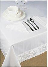 7-tlg. Tischwäsche-Set ClearAmbient Größe: 180