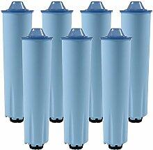 7 x Wasserfilter-Patrone für Kaffeevollautomaten