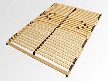 7 Zonen Lattenrost Lattenrahmen Lattenroste 90x200 cm oder 140x200 cm mit Härtagradverstellung- Nicht Verstellbar (140x200 cm)