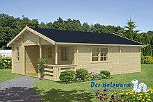 70 mm Gartenhaus Kay ca. 595x800 cm