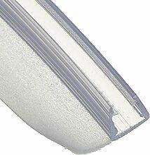 70cm UK01 -- Duschdichtung ABGERUNDET Runddusche Viertelkreisdusche Rundbogen für 3,5mm/ 4mm/ 5mm Glasdicke Runddichtung Ersatzdichtung vorgebogen KREIS rund