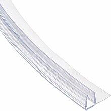 70cm UK02 -- Duschdichtung ABGERUNDET Runddusche Viertelkreisdusche Rundbogen für 6mm/ 7mm/ 8mm Glasdicke Runddichtung Ersatzdichtung vorgebogen KREIS rund