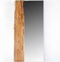 70x140cm Landhaus Garderobenspiegel TEAK massiv