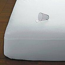 70x140x15cm gebürstet 100% Baumwolle Alle  Größen Matratzenschutz Molton  Wasserdichte Matratze Schutzhülle Anti Alleryg Dust Mite Bakterien Atmungsaktive  Betteinlage Matratzenauflage Inkontinenz