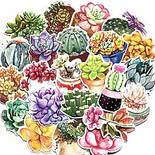 71 Blatt/Packung Pflanze fleischig Aufkleber