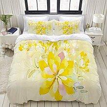 713 GGCOCO Bedding Bettwäsche,Romantische weiße