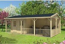 720 cm X 420 cm Gartenhaus Latrell Garten Living