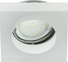 7200-016 LED Einbaustrahler 1x3W GU10 Acryl
