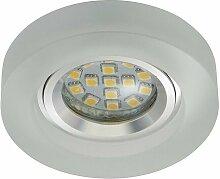 7201-016 LED Einbaustrahler 1x3W GU10 Acryl