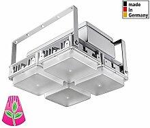 75 Watt - 150 Watt Bioledex LED SILLAR Module Lampe Modular Pflanzen-licht Grow Wuchs und Blüte Wellenlänge Wasserdicht Pflanzenlampe Farbtemperatur 1001 Kelvin Kühlung Passiv (100W Modul SILLAR 4Q)