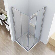 75 x 75 x 197 cm Duschkabine Eckeinstieg Dusche