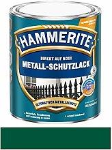 750 ml Hammerite Direkt auf Rost Metall-Schutzlack Dunkelgrün, Ma