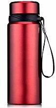 750mL Vakuum Doppelschicht Isolierung Tasse GroßE KapazitäT Im Freien Tragbares Glas MäNner Und Frauen High-End-Business-Geschenk-Tasse , 4