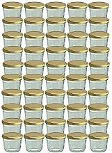 75er Set Sturzglas 230 ml Marmeladenglas