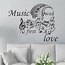 75x57cm Noten Noten Klavier Tastatur Muster Liebe