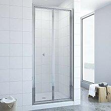76cm Duschwand Duschabtrennung faltbar Falttür
