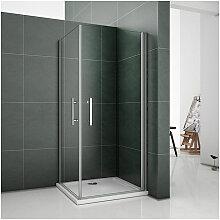 76x90x185cm Duschkabine Duschabtrennung Dusche