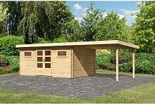 793 cm x 335 cm Gartenhaus Bastrup Woodfeeling