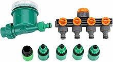7Pcs/Set Tropfbewässerung Timer Bewässerungsuhr