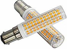 7W B15D LED Dimmbar Warmweiß 3000K B15D 100W