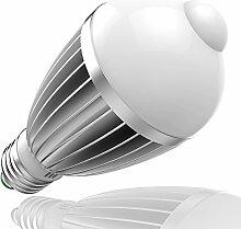 7W E27 LED Birne Lampe mit Bewegungsmelder