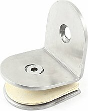 8–12mm Dicke Metall Cabinet Regal Glas Clip Clamp Halterung