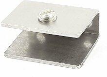8-12mm Dicke Rechteck Regal Glas Clip Clamp