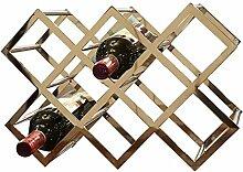 8 Flasche Weinregal - EIS-Multifunktions-Boden