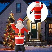 8 Fuß Weihnachten aufblasbarer Weihnachtsmann,