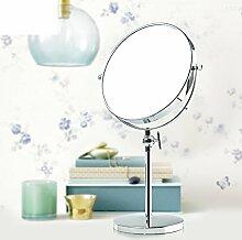 8 kreative Zoll Prinzessin Spiegel/Höhe verstellbaren Desktop-Spiegel/Schlafzimmer Tabelle Kosmetikspiegel