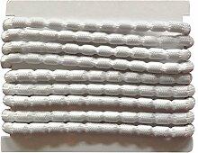 8 m Bleiband 85g/m zur Beschwerung von Gardinen