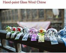 8PACK Japanische Handgefertigt Furin Windspiel