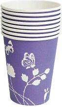 8 Partybecher purple 551903