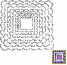 8quadratische Formen Schablonen DIY Scrapbooking