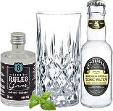 8 Rules Gin Tasting Set incl. Nachtmann Glas