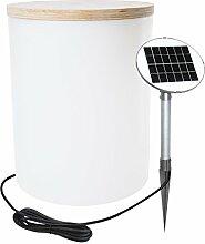 8 Seasons Design Solar-Außenleuchte, Plastik,