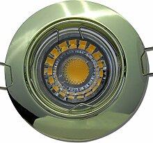 8 Stück MCOB LED Einbaustrahler Fabian 230 Volt 5