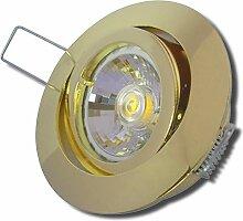8 Stück MCOB LED Einbaustrahler Laura 230 Volt 3