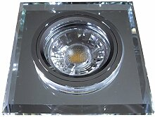 8 Stück MCOB LED Glas Einbaustrahler Jonas 230