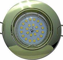8 Stück SMD LED Einbaustrahler Fabian 230 Volt 5