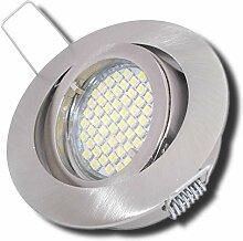 8 Stück SMD LED Einbaustrahler Laura 12 Volt 3