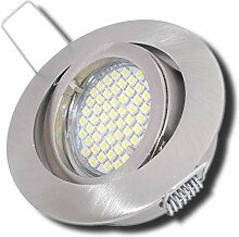 8 Stück SMD LED Einbaustrahler Laura 230 Volt 5