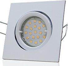 8 Stück SMD LED Einbaustrahler Luisa 12 Volt 5
