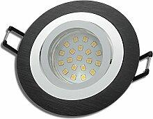 8 Stück SMD LED Einbaustrahler Nele 230 Volt 3