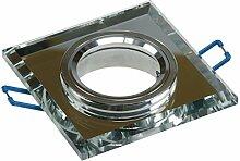 8 Stück SMD LED Glas Einbaustrahler Jonas 12 Volt