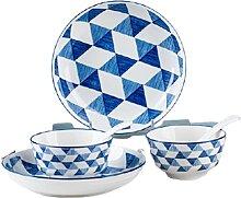 8-Teiliges Porzellan-Dinner-Set Tafelservice