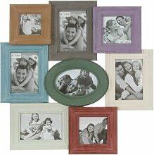 8 tlg. Collage-Rahmen-Set Irma Sommerallee